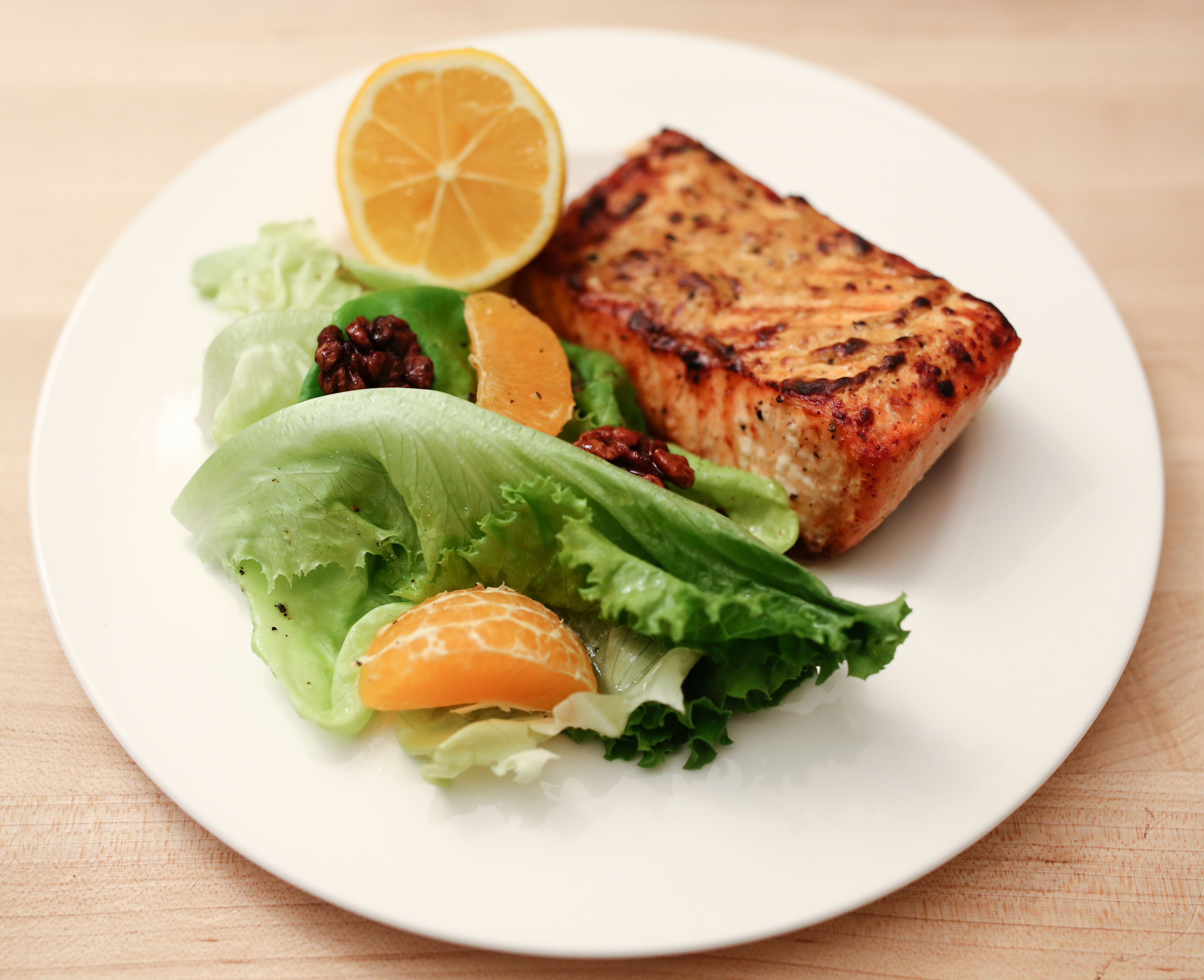 Simple roasted salmon with side salad recipe ourharvest simple roasted salmon with side salad ccuart Choice Image